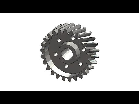 CREO TUTORIAL #3 || Design a Helical gear in creo parametric.