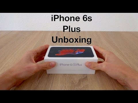 Unboxing the iPhone 6s Plus