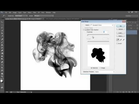 Photoshop Tutorial : How to Crop a Picture Smoke