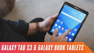 Samsung Galaxy Tab S3, Book 10, and Book 12 tablets first look