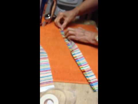 How to make #1 and fabric suspenders for baby boy bodysuit