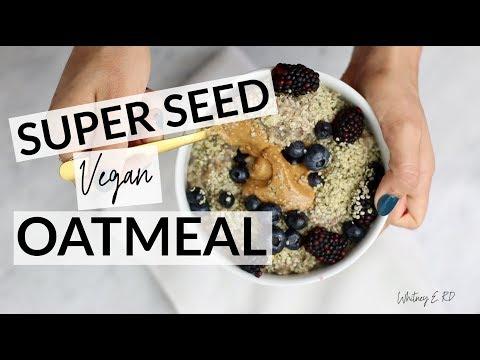 Super Seed Oatmeal Recipe I VEGAN + PROTEIN-PACKED
