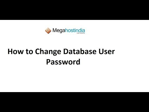 Steps to Change Database User Password | Steps to Find WordPress Database User Password