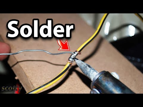 How to Solder Wires Together in Your Car