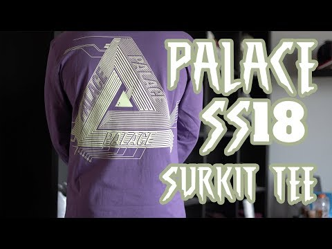 Palace SS18 Surkit Long Sleeve Review Week 2 Pick Up