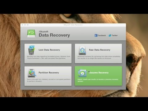 iSkysoft Data Recovery for Mac - How to Recover Unsaved Excel File