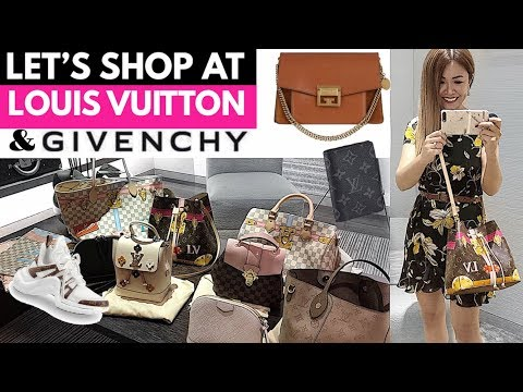 SHOP WITH ME AT LOUIS VUITTON & GIVENCHY! | + LV UNBOXING! 📦 | LUX SHOPPING VLOG 🛍