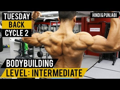 Bigger V SHAPE BACK Workout! Cycle 2 (Hindi / Punjabi)