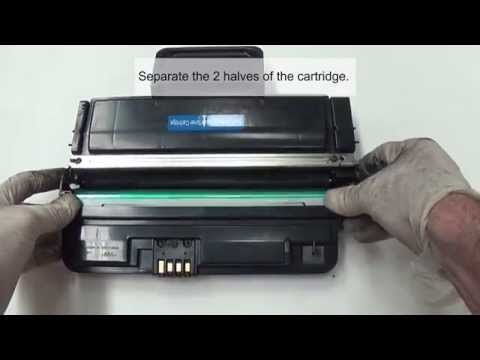 Samsung ML 2850 2855 Toner Cartridge Refill Instructions