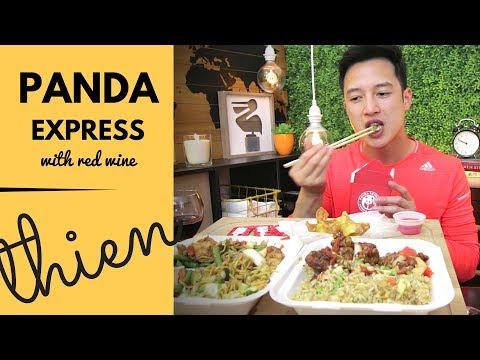 [mukbang with THIEN]: PANDA EXPRESS (Orange Chicken, Five Flavor Shrimp, and Beijing Beef)