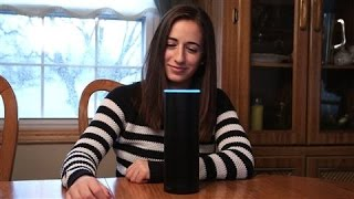 A Real-Life Alexa Lives With