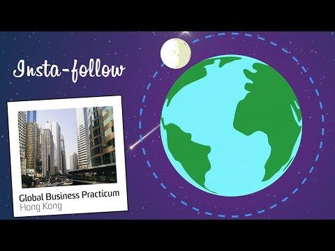 Insta-follow: Global Business Practicum, Hong Kong