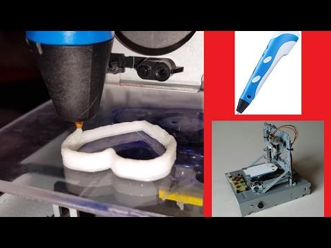 Super-Cheap 3D Printer from CD/DVD Drives