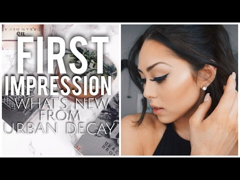 Urban Decay Summer 2016 Collection: First Impression Review! Beached Bronzer & Afterglow Highlighter