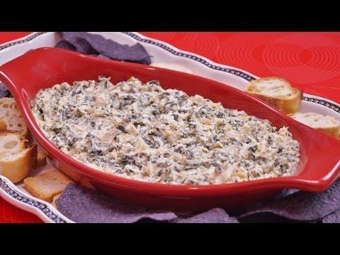 Spinach Artichoke Dip Recipe-How To Make: Hot Dip Recipe: Di Kometa - Dishin' With Di #130