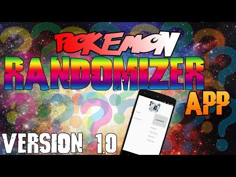 Pokemon Randomizer App [Version 1.0]