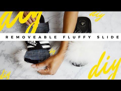 Fenty By Rihanna Fur Slides By Puma DIY