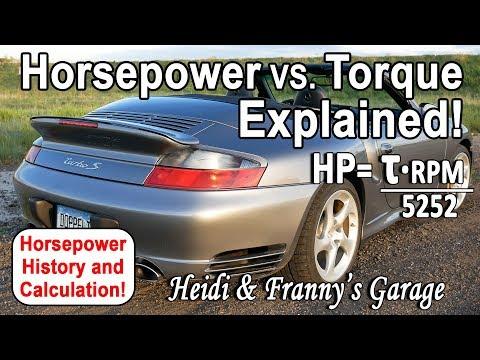 Horsepower Vs. Torque Explained!