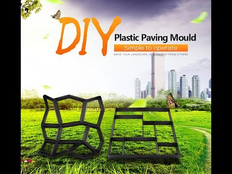 Walkway mold - Make it yourself for backyard