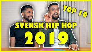 RANGORDNAR SVENSK HIP HOP 2019