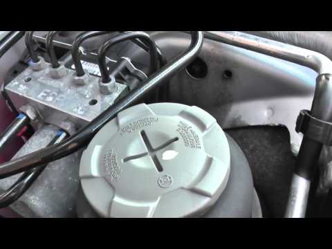 Audi A4 B8 Power Steering Fluid Location 2008 to 2015