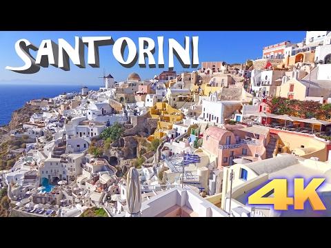 SANTORINI - GREECE 4K