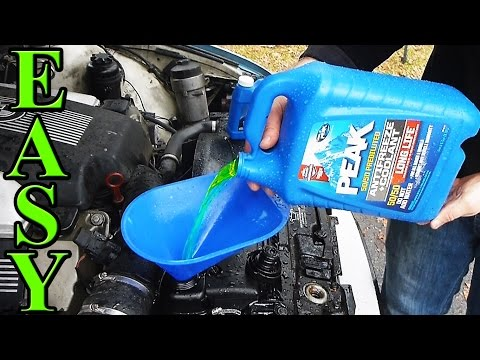 How to Quick Flush Your Cars Cooling System