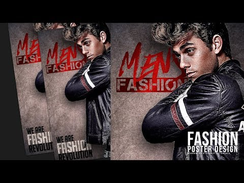 Make a Fashion Poster With Typography in Photoshop