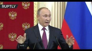 Putin mocks Trump