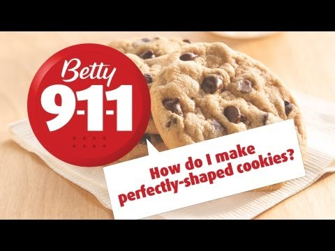 Betty 911 - How Do I Make Perfectly-Shaped Cookies?