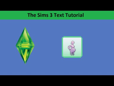 The Sims 3 Text Tutorial: Pregnancy