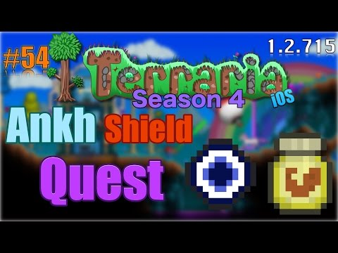 Let's Play Terraria (1.2.715) iOS- Ankh Shield Quest! Episode 54