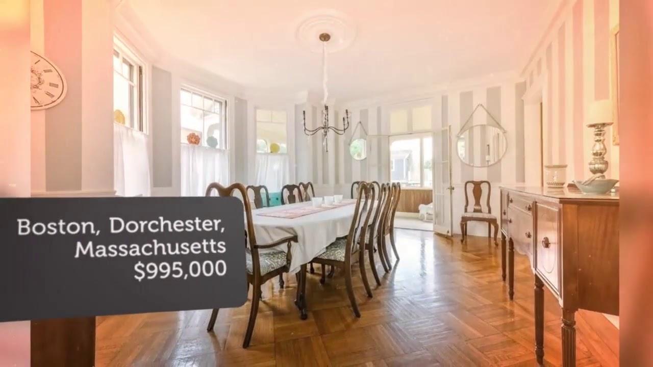 House for sale in Boston, Dorchester, $995,000