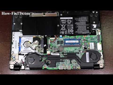 Acer Aspire V5-573G V5-573 BIOS reset, reinicio del BIOS, сброс БИОСа ноутбука