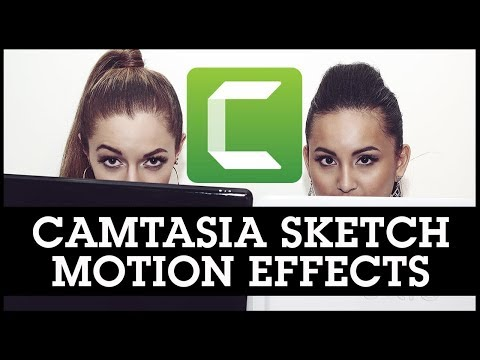 Camtasia Sketch Motion Effects: GREAT for Editing Tutorial Videos!