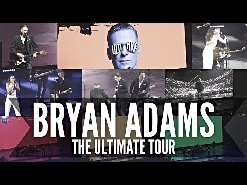 BRYAN ADAMS THE ULTIMATE TOUR | O2 Arena, London - 31st May 2018