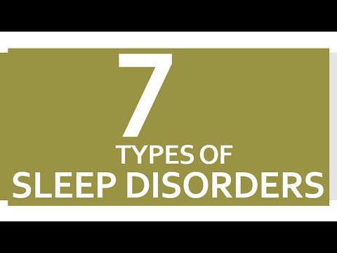 7 Types of Sleep Disorders - CURE AND CARE - BENEFITS OF WELLNESS