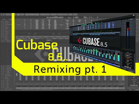 Remixing in Cubase pt 1. Switching a 6/8 Time Signature to 4/4