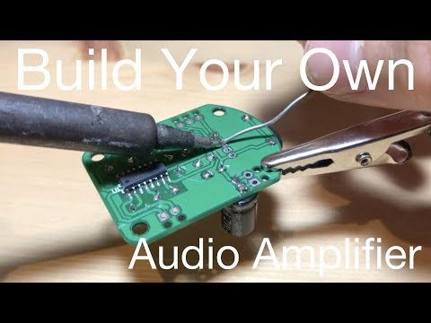 Build your own audio amplifier from ICStation
