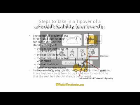 Free Forklift Certification License Training