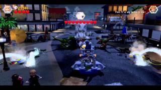LEGO Jurassic World - Final Boss Fight Indominus Rex Dinosaur fight