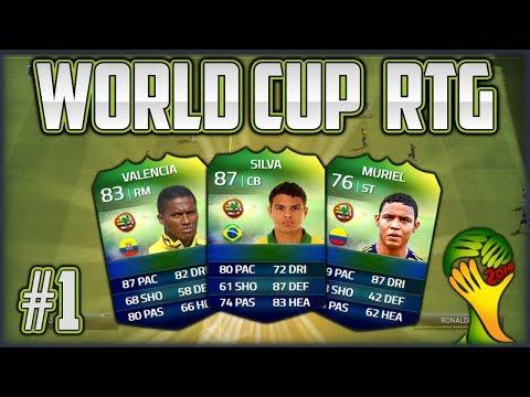 FIFA 14 Next Gen - World Cup Road to Glory #1 - Der Start