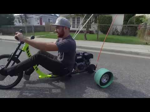 Chevelle Funded Drift Trike Top Speed Run - Garage Night: Episode 2