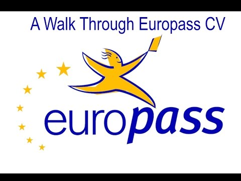 Europass CV Walk Through