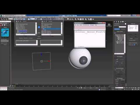 Rig the Eyes by 3ds Max