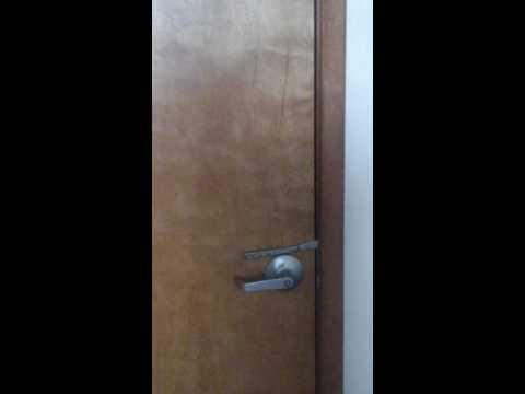 DINNER KNIFE DOOR LOCK MEAN PEOPLE