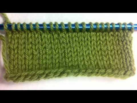 How to Knit The Single Cast On {Left Handed}