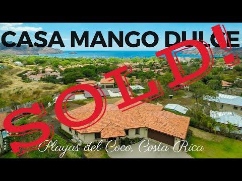 *** FOR SALE *** Casa Mango Dulce – Playas del Coco, Guanacaste, Costa Rica