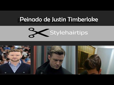 Justin Timberlake Hairstyle-Peinado de hombre inspirado en Justin Timberlake