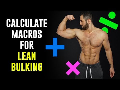 How to Calculate Macros For Lean Bulking (In Less than 5 Minutes!!)